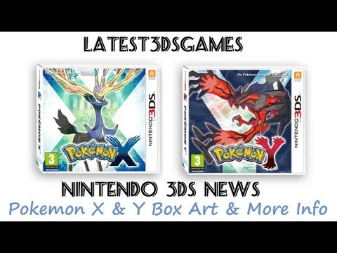 Nintendo 3DS News + Pokemon X & Y Box Art + New Trailer + Pokemon Transport !