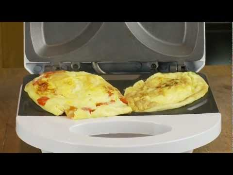 Electric omlette maker from clifford james how to save for Bella personal pie maker recipes