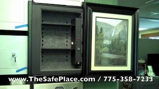 Secure Logic InvisiVault Picture Frame Wall Safe