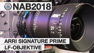 NAB2018: Arri Signature Prime Large-Format Lenses