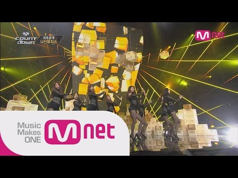 나인뮤지스(9MUSES) - Dance Intro + Drama M! COUNTDOWN 409화