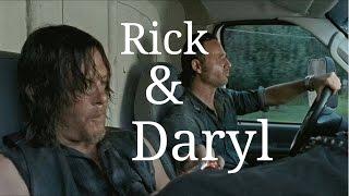 Rick & Daryl Funny Moments
