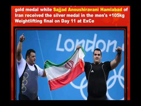 PERSIAN LIONS MAKE THE HISTORY IN 2012 LONDON OLYMPIC  4 GOLD 3 SILVER & 1 BRONZE BY M. REZA S.