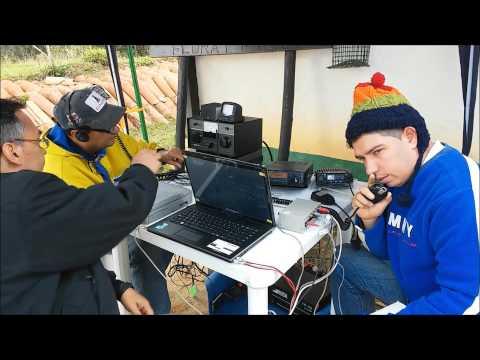Radio Expedicion DX parque nacional sierra nevada Mérida venezuela