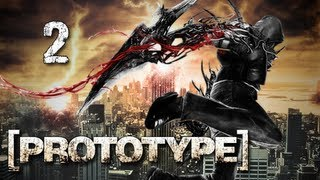 Prototype Walkthrough - Part 2 Disguise Let's Play PS3 XBOX PC (Gameplay / Commentary)