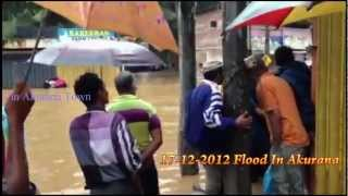 Flood in Akurana overall video collection Full HD resolution