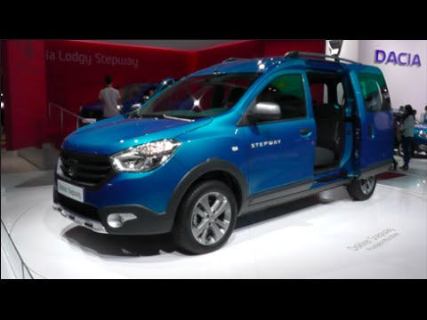 dacia dokker stepway 2015 in detail review walkaround interior exterior youtube. Black Bedroom Furniture Sets. Home Design Ideas