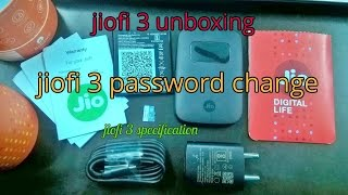 jiofi 3 password change | reliance jio 4g speed test| how to use