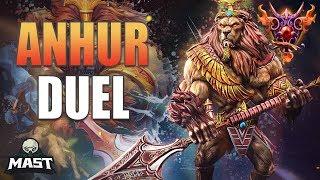 Anhur Duel Gameplay | SMITE Masters Ranked | Titan's Rush!