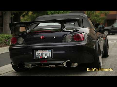 StreetLightz x BackYard Imports Midnight Purple 3 Honda s2000