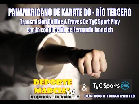 Panamericano de Karate Do - Río Tercero - Argentina - Día 2
