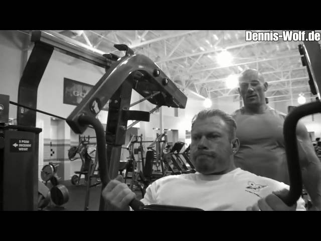 Dennis Wolf Back Workout July 2010