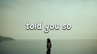 Little Mix - Told You So (Lyrics)