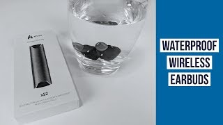 Waterproof Earbuds For Swimming ► xFyro XS2 Review ◄ Waterproof Headphones Wireless Bluetooth