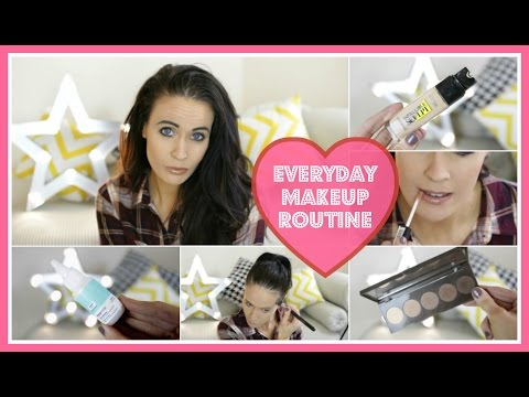 ♡ My Everyday Makeup Routine  Spring 2016 ♡