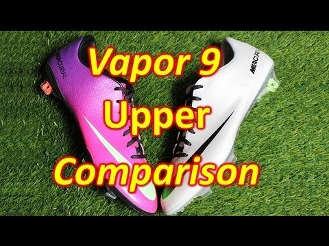 Nike Mercurial Vapor 9 IX Upper Comparison - Speed Control VS Leather Finish
