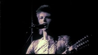 David Bowie Lady Stardust Live 1972 Rare Footage 2017 Edit