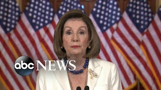 Pelosi calls for articles of impeachment against Trump