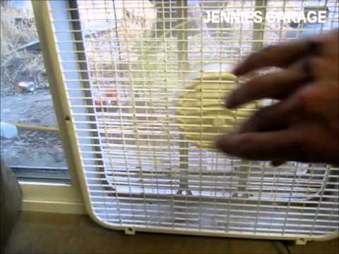Homemade A/C For $30 - How To Make A Cheap Evaporative Cooler !!
