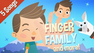 Finger Family | Itsy Bitsy Spider | Nursery Rhymes | Baby Songs | Kids Songs | HD