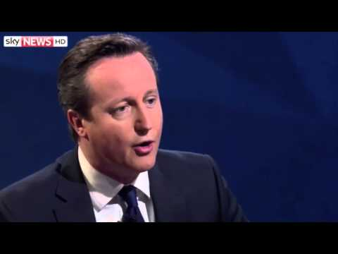 UK PM David Cameron - Election Interview by Jeremy Paxman
