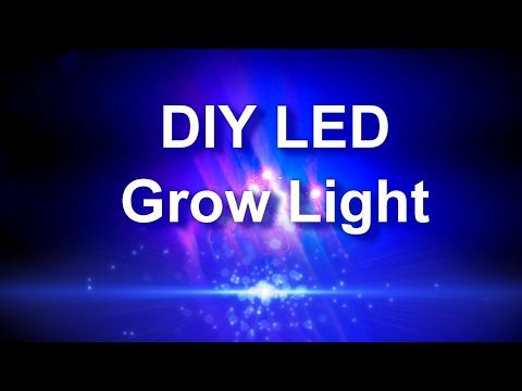 DIY LED Grow Light Build