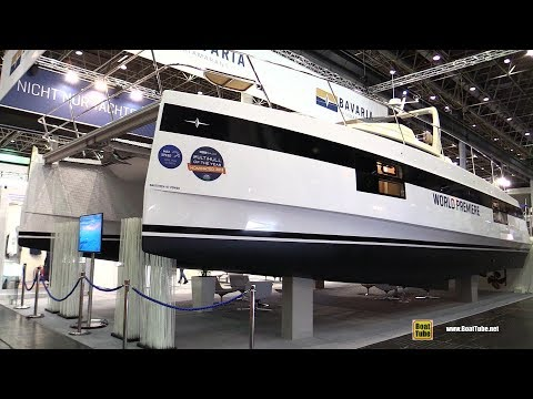 2018 Bavaria Nautitech 47 Power Catamaran - Walkaround - Debut at 2018 Boot Dusseldorf Boat Show