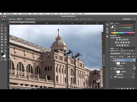 Hochpass-Schärfen für Fortgeschrittene - Adobe Photoshop CC für Fortgeschrittene