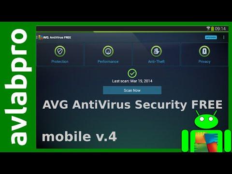 AVG 2015 Free AntiVirus for ANDROID