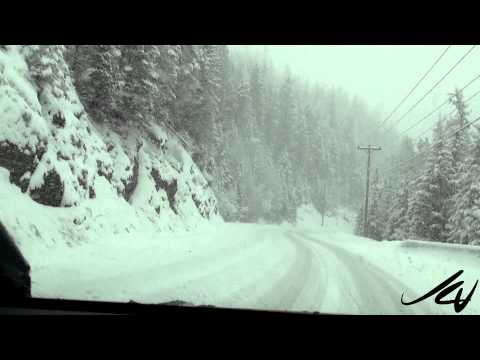 Heavy Mountain Snow - British Columbia Canada - YouTube