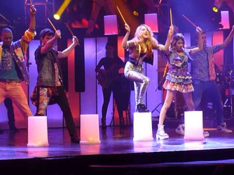 on beat Violeta en Gran Rex 17/7/13