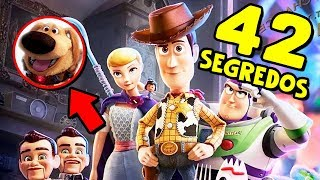 42 SEGREDOS ESCONDIDOS NO TRAILER DE TOY STORY 4