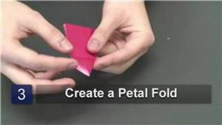 Origami : How To Make An Origami Rose