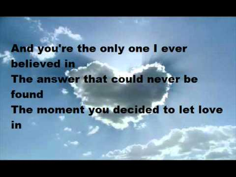 Goo Goo Dolls- Let Love In lyrics