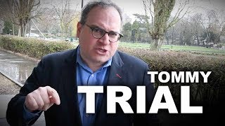 Ezra Levant UPDATES Tommy Robinson's trial (Day One)   TommyTrial.com