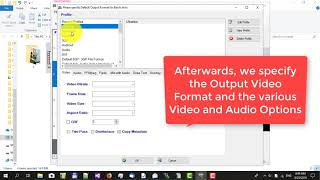 How to convert Videos, avi to mp4 using Video Converter Expert