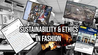 The Importance Of SUSTAINABILITY & ETHICS In Fashion