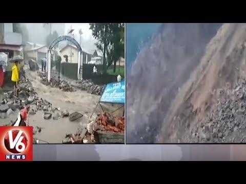 Uttarakhand: Cloudburst in Pithoragarh | Damages Seraghat Dam & Hydro Power Plant | V6 News