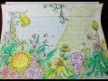 Hướng Dẫn Vẽ Tranh Vườn Hoa Xinh Đẹp/HOW TO DRAW FLOWER GARDEN FOR KIDS