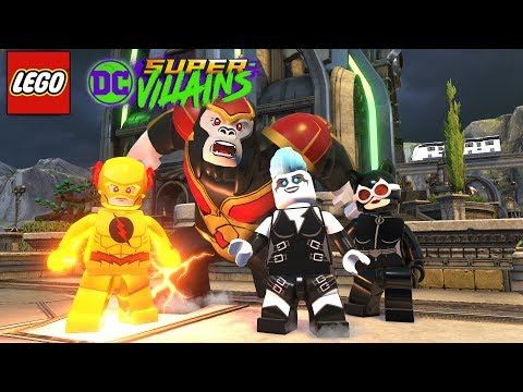 LEGO DC Суперзлодеи (Super-Villains) русская озвучка - Часть 6 -  ШТАБ ЛЕГИОНА ПОГИБЕЛИ. Игра лего