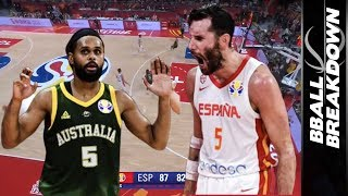 Spain Beats Australia in FIBA World Championships Semi Final 2019