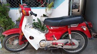 [Xe Máy An Nhiên] Honda Cub DD70 BSTP zin khá nhiều giá 9.500.000vnd