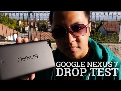 Google Nexus 7  Drop Test! (2013 / 2nd Generation)