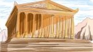 How to draw Temple of Artemis