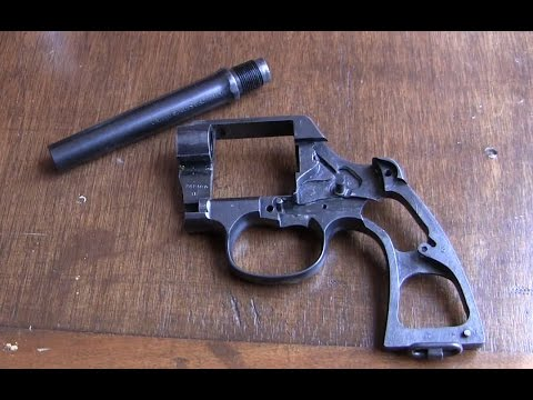 Revolver Barrel Removal