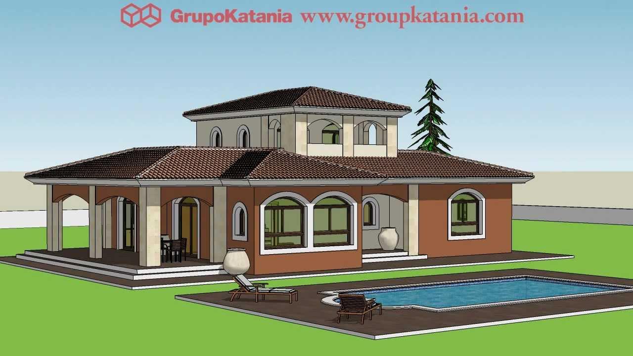 Modelo cordoba chalet de nueva construcci n r stico en for Modelos de casas procrear clasica