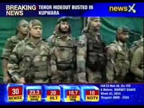 Terror hideout busted in Kupwara