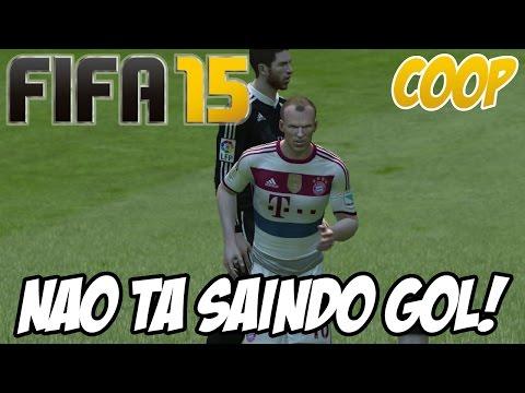Fifa 15 - Temporada Coop - Partida TENSA!