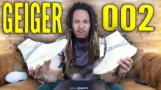 UNRELEASED SAMPLES OF THE GEIGER 002 !!! EXCLUSIVE SNEAKER UNBOXING REVIEW !!!