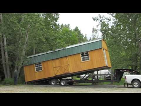 Old Hickory 32 Foot Shed Youtube